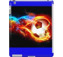 soccer fire iPad Case/Skin