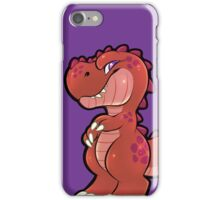 Happy T-Rex iPhone Case/Skin