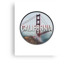 California Bridge Canvas Print