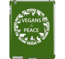 Vegans for Peace 4 iPad Case/Skin