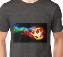 soccer fire Unisex T-Shirt
