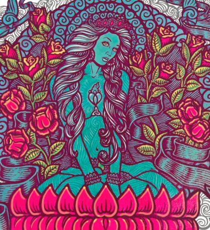 Blue Tara Tera Divine Gea Goddess Sticker