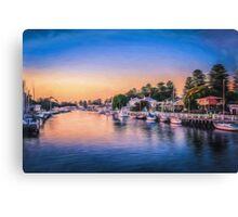 Port Fairy Sunset  (GO) Canvas Print