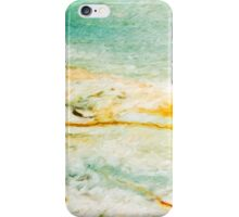Abstract Beach painting iPhone Case/Skin