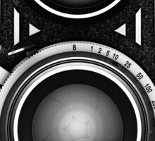 Vintage TLR Camera Sticker