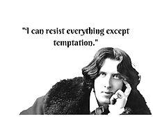 Oscar Wilde Witticisms Photographic Print