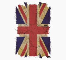 Ragged Britannia Union Jack Flag T-shirts and Stickers Kids Clothes