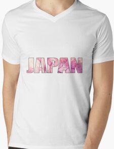 Cherry blossoms in japan Mens V-Neck T-Shirt