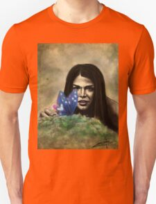 Octavia and the Butterfly (full color) T-Shirt