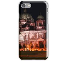 sketch / illustation of the berlin cathedral  iPhone Case/Skin