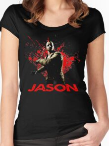 Jason Voorhees Women's Fitted Scoop T-Shirt