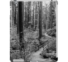 Two paths coming together iPad Case/Skin