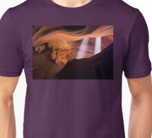 Light Beams in the Canyon Unisex T-Shirt