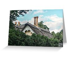 Fairy Tale Chimney Greeting Card