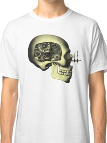 Vintage Steampunk Automaton Skull #1 Classic T-Shirt