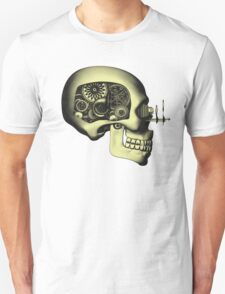 Vintage Steampunk Automaton Skull #1 Unisex T-Shirt