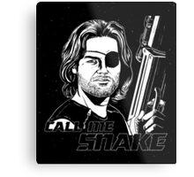Call Me Snake Metal Print