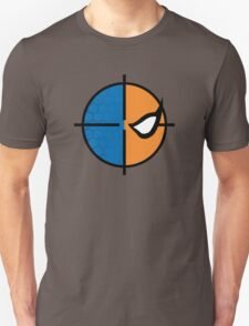 Deathstroke emblem, round Unisex T-Shirt