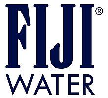 FIJI WATER Photographic Print