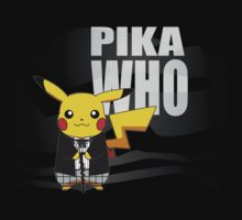 Pika Who - First Doctor by gamecraft64