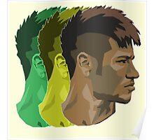 Neymar is Brazil Poster