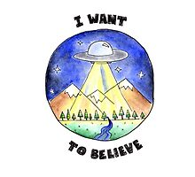I want to believe by verystrawberry