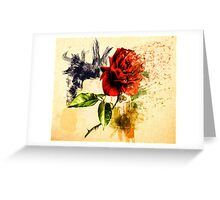 Every Rose Has ItsThorn Greeting Card