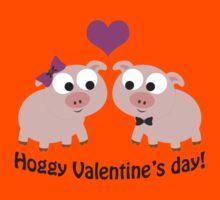Hoggy Valentines Day Kids Tee