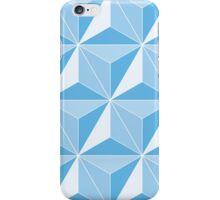 Spaceship Earth - Blue iPhone Case/Skin