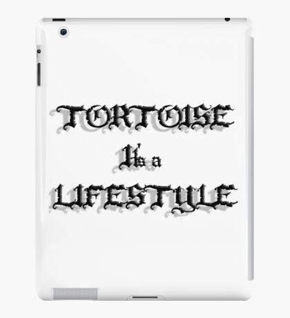 Tortoise it's a Lifestyle iPad Case/Skin