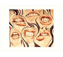 mouthful Art Print