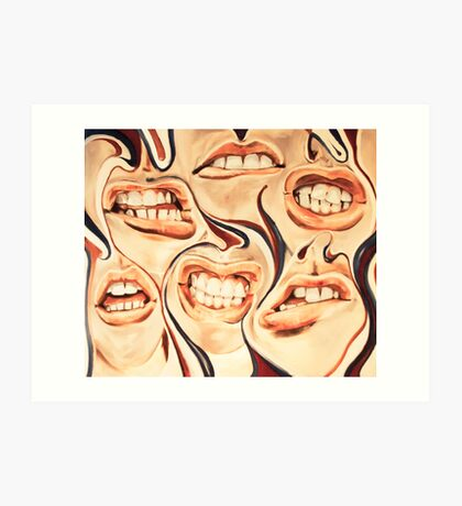 mouthful Art Print