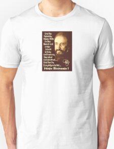 Haile Selassie Quote T-Shirt