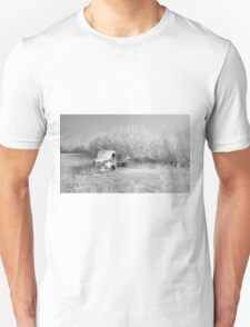 Waiting On Springs - Black and White T-Shirt