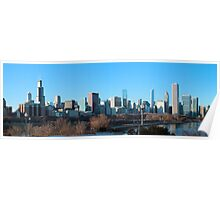 Clear Day In Chicago Poster