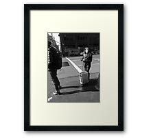 New York Street Photography 52 Framed Print