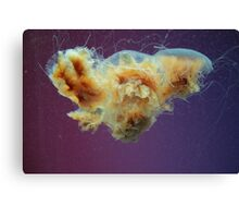 Swimming in a Purple Haze. Canvas Print