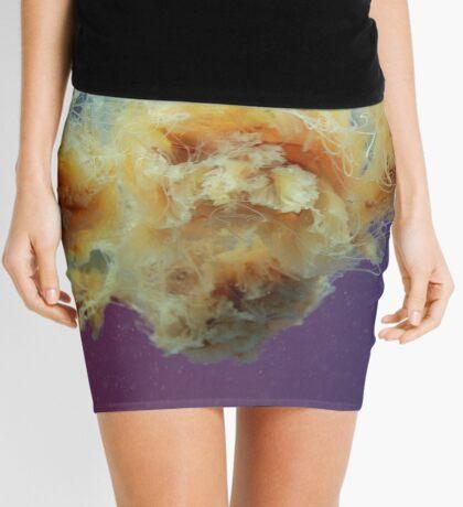 Swimming in a Purple Haze. Mini Skirt