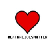Extra Lives Matter Photographic Print