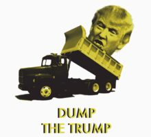 Dump the Trump One Piece - Short Sleeve