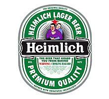 Heimlich Beer Photographic Print