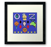 Return To Oz cartoon Framed Print
