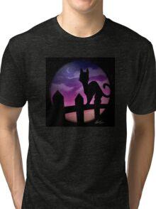Dusk Follows Tri-blend T-Shirt