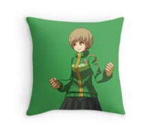 Chie (Green) Throw Pillow