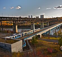 Bridges and Trains by Linda Bianic