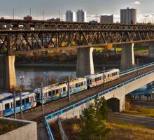 Bridges and Trains Sticker