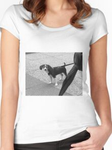 New York Street Photography 61 Women's Fitted Scoop T-Shirt