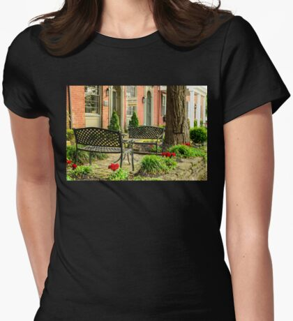Augusta KY Benches Womens Fitted T-Shirt