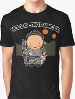 Hello Scavenger Graphic T-Shirt