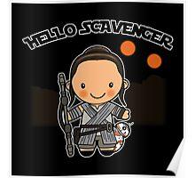 Hello Scavenger Poster